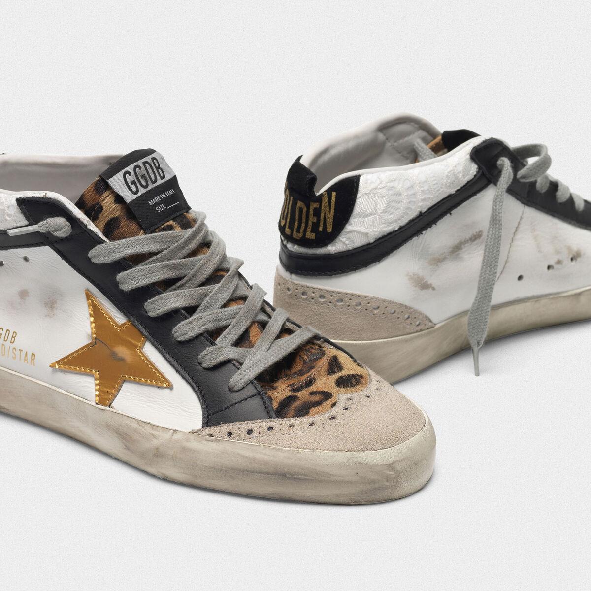 Golden Goose Women's Mid-Star Sneakers